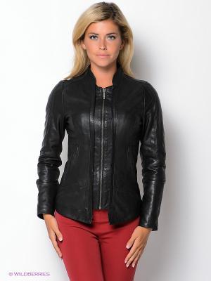 Куртка city girl. Цвет: черный