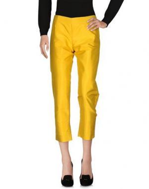 Повседневные брюки MARIE LOUISE. Цвет: охра