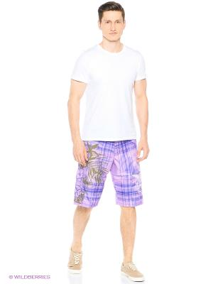 Шорты плавательные OXYDE. Цвет: фиолетовый