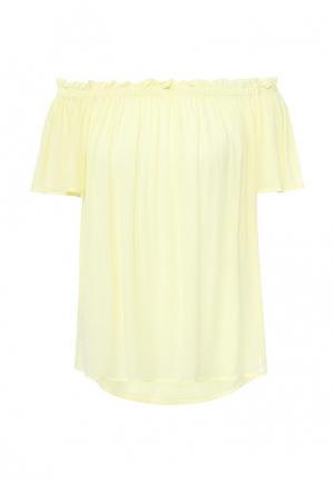 Блуза Vero Moda. Цвет: желтый