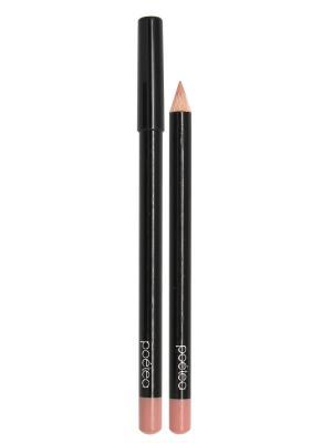 Кремовый карандаш для губ  MANGO тон 71 POETEA. Цвет: светло-бежевый