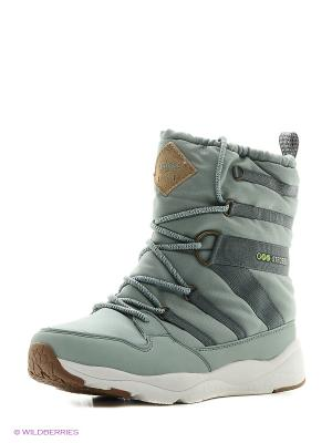 Ботинки STROBBS. Цвет: зеленый
