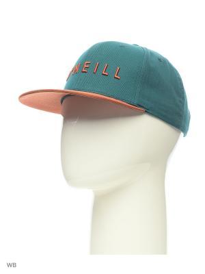 Бейсболка O'Neill. Цвет: зеленый, оранжевый