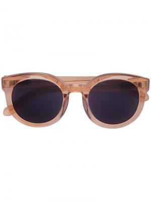 Солнцезащитные очки Oha Epøkhe. Цвет: коричневый