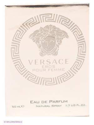 Versace Eros Pour Femme, парфюмированная вода 50 мл. Цвет: золотистый