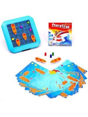 Логическая игра Bondibon Спасатели, арт.SG 510 RE  RU. Цвет: голубой, красный