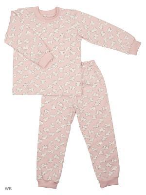Пижама Котята Лео. Цвет: розовый