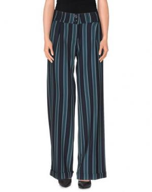 Повседневные брюки TRY ME. Цвет: зеленый