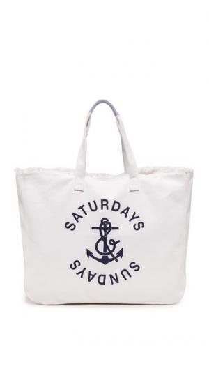 Объемная дорожная сумка с короткими ручками и карманами SUNDRY