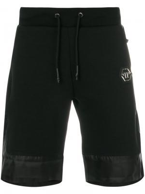 Спортивные шорты Too Much Philipp Plein. Цвет: чёрный