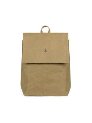 Рюкзак FUN PACK KRAFT. Цвет: оливковый