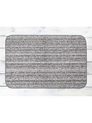 Коврик для прихожих и жилых помещений PRESTIGE 45х69см. Серый NIKLEN. Цвет: серый