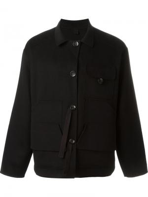 Куртка в рабочем стиле Extreme Cashmere. Цвет: чёрный