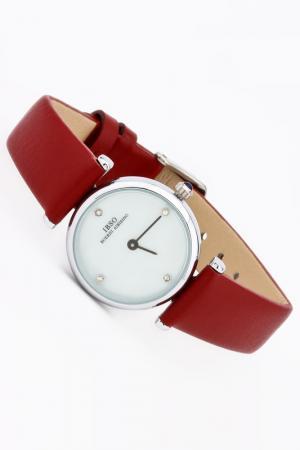 Часы IBSO. Цвет: серебро, бордовый