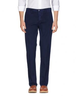 Повседневные брюки ZERO. Цвет: темно-синий