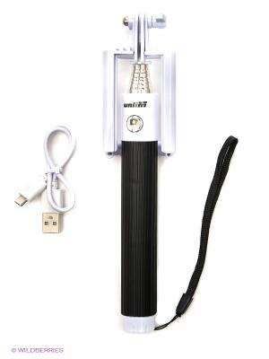 Bluetooth монопод для селфи Unlim. Цвет: белый, черный
