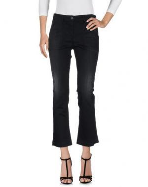 Джинсовые брюки 3x1. Цвет: черный
