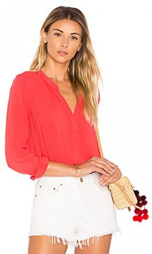 Блузка rosie Velvet by Graham & Spencer. Цвет: красный