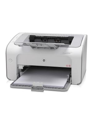 Принтер лазерный HP LaserJet Pro P1102. Цвет: светло-серый