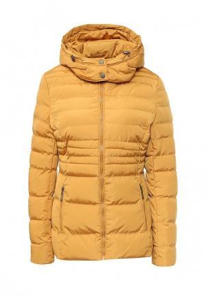 Куртка утепленная Adrixx. Цвет: желтый