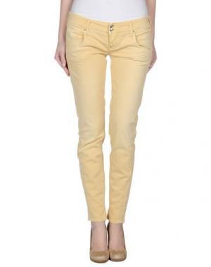 Джинсовые брюки CYCLE. Цвет: светло-желтый