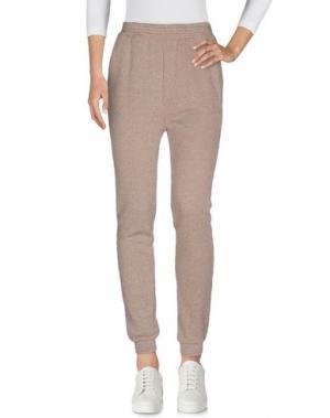 Повседневные брюки NIOI. Цвет: голубиный серый
