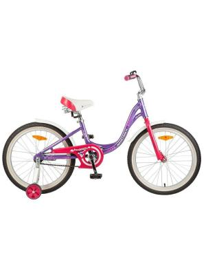 Велосипед 20 ANGEL NOVATRACK. Цвет: фиолетовый