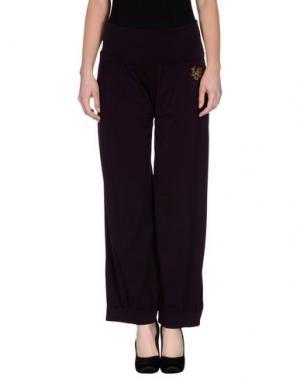 Повседневные брюки LOVE SEX MONEY. Цвет: фиолетовый