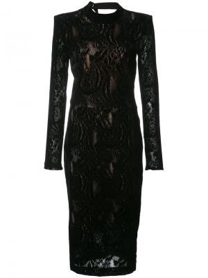 Платье мини  Walker Rebecca Vallance. Цвет: чёрный