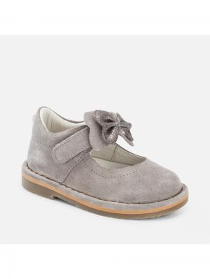 Туфли Mayoral. Цвет: серый