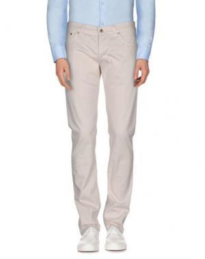 Повседневные брюки DONDUP. Цвет: белый