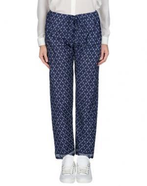 Повседневные брюки BSBEE. Цвет: синий