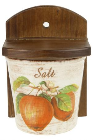 Емкость для соли, 13x11x18 LCS. Цвет: мультиколор
