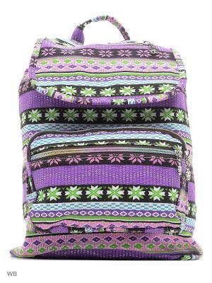 Рюкзак Punta. Цвет: зеленый, фиолетовый, розовый