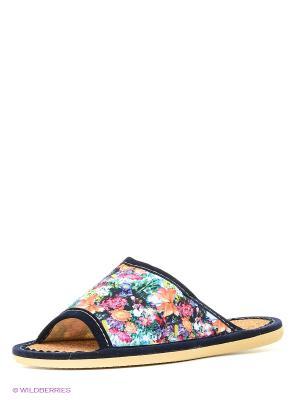Тапочки ШК обувь. Цвет: фиолетовый