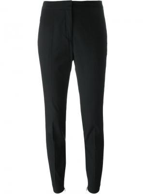 Зауженные к низу брюки Aurelia New By Malene Birger. Цвет: чёрный