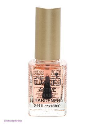Средство для ногтей интенсивное укрепление Аctive nail hardener GA-DE. Цвет: бледно-розовый