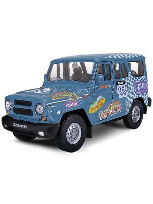 Машина UAZ HUNTER спорт AUTOTIME. Цвет: синий