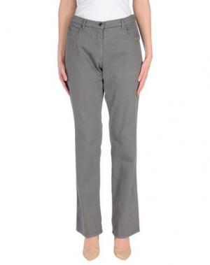 Джинсовые брюки NATAN. Цвет: серый