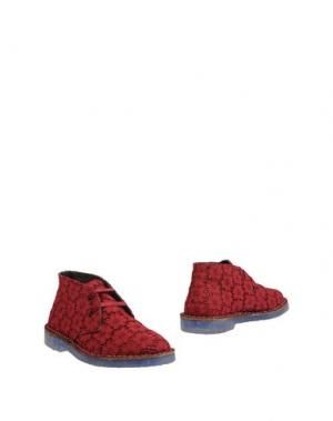 Полусапоги и высокие ботинки WALLY WALKER. Цвет: красно-коричневый