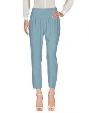 Повседневные брюки DORALICE. Цвет: пастельно-синий