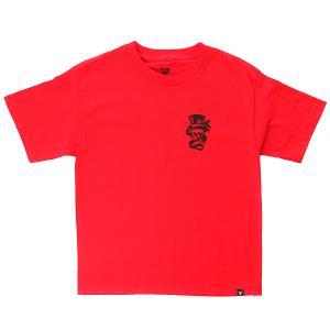Футболка детская  Outlaw Youth Blood Red/Black Fallen. Цвет: красный