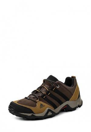 Кроссовки adidas Performance. Цвет: коричневый