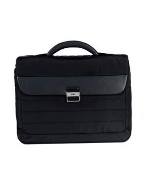 Деловые сумки NAVA. Цвет: черный