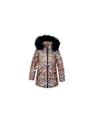 Куртка DIALINI. Цвет: коричневый