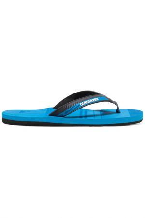 Обувь пляжная Quiksilver. Цвет: голубой