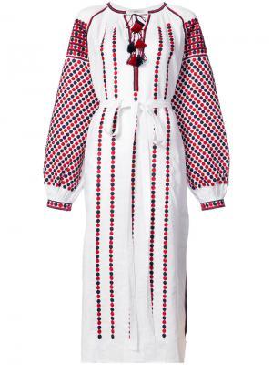Tassel midi dress Vita Kin. Цвет: белый