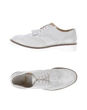 Обувь на шнурках GIACKO. Цвет: светло-серый