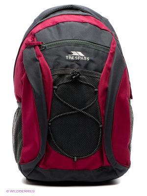 Рюкзак Trespass. Цвет: серый, бордовый