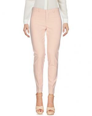 Повседневные брюки SANDRO FERRONE. Цвет: розовый